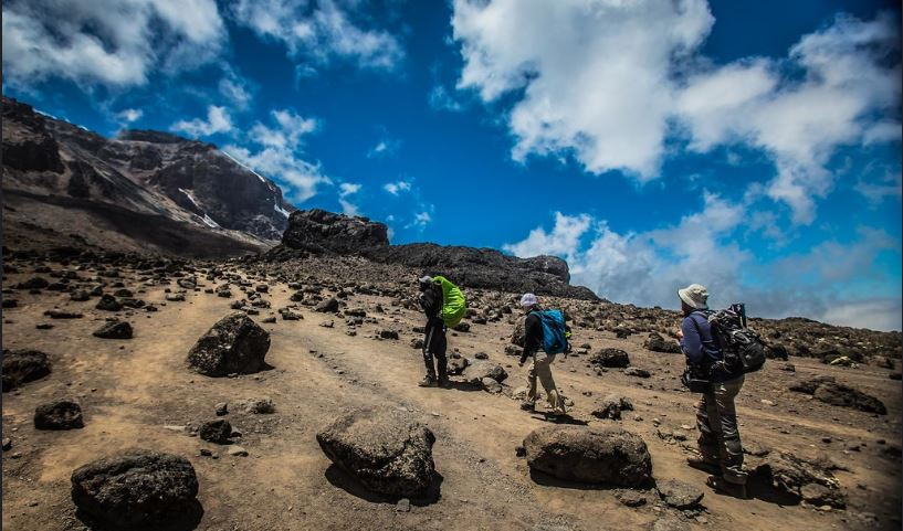 Porters and Guides on Kilimanjaro