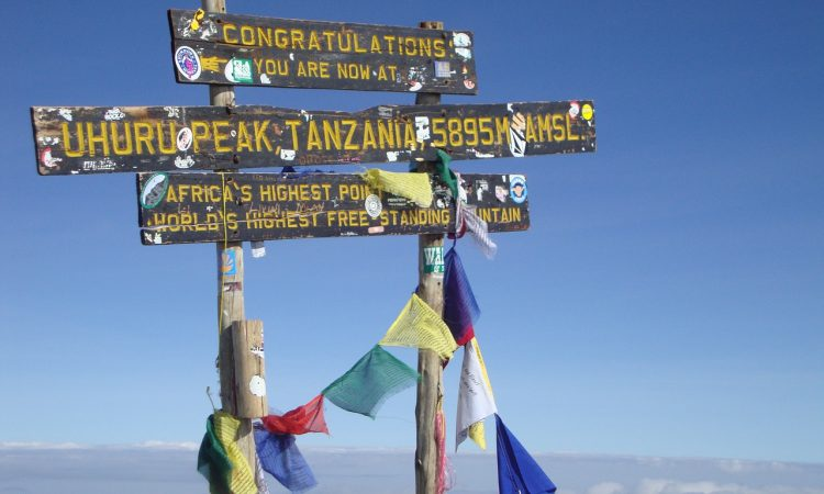 Success rate of reaching the Kilimanjaro Summit