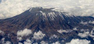 Climatic zones on Mount Kilimanjaro