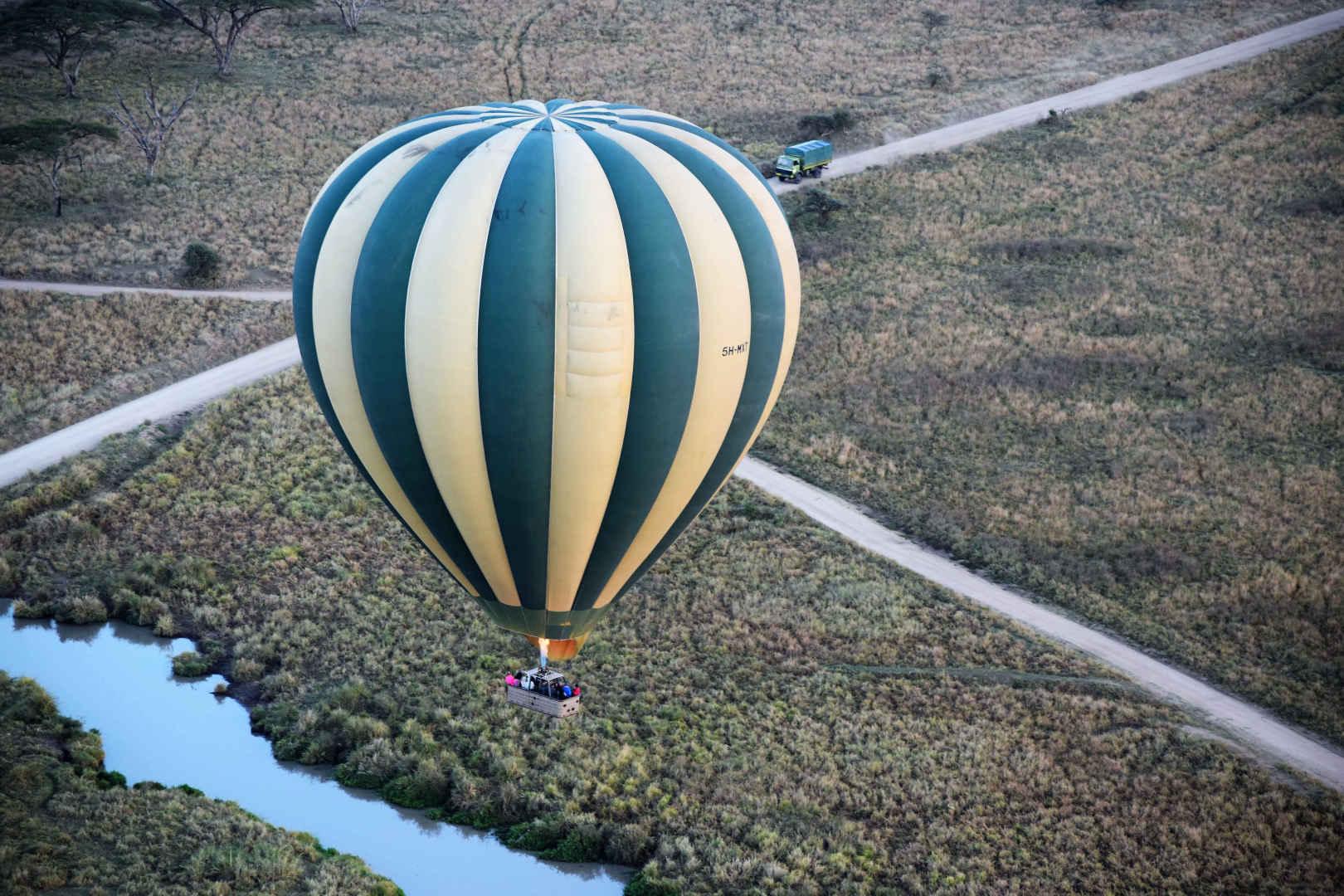 Hot Air Baloons in kilimanjaro