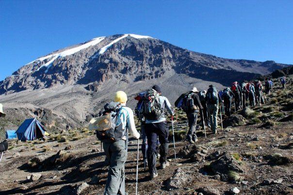 Visiting mount kilimanjaro